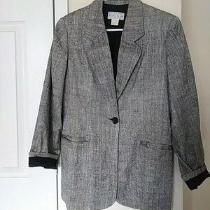 Saks Fith Avenue blazer size s-m